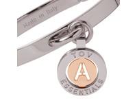 Iniziali bangle (Armband) 2.0 - Wit Goud/Rose - Letter A