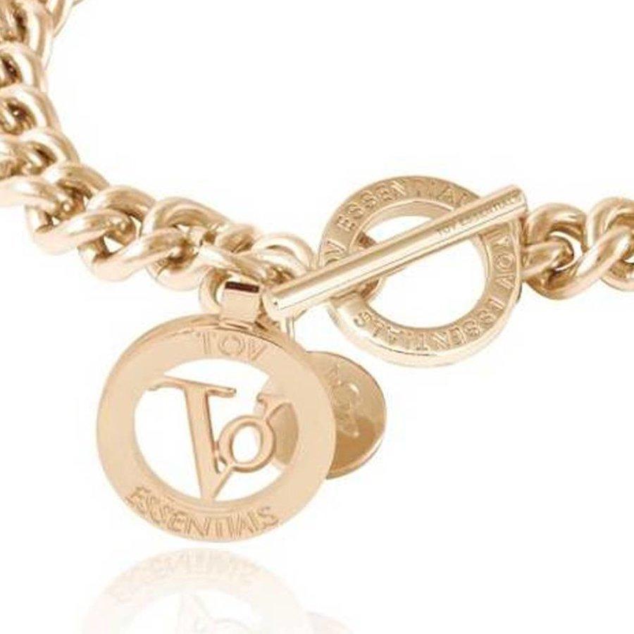 Ini mini solochain armband - Champagne goud