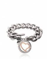 heart bi colour bracelet