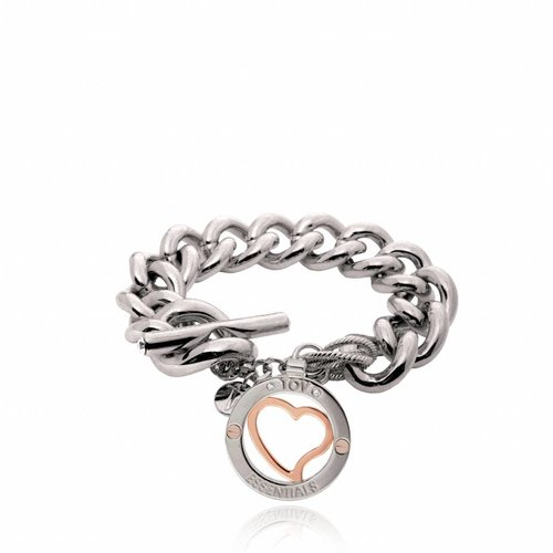 heart bi colour bracelet