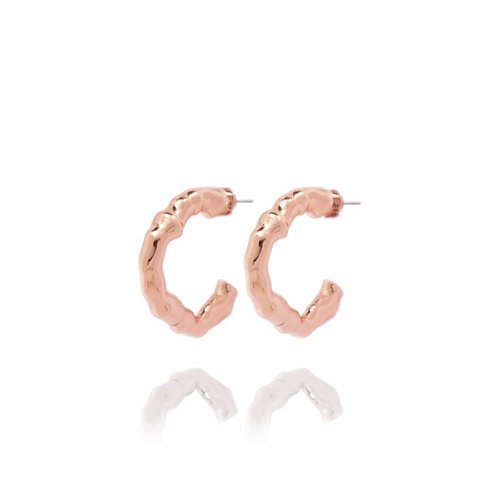 OAK - creole - earring  - Copy