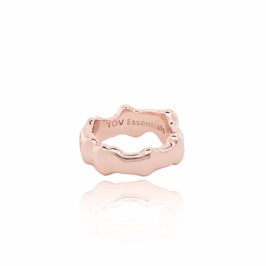 OAK ring - bold - silver