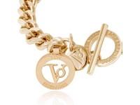 Ini mini flat chain bracelet - Light Gold