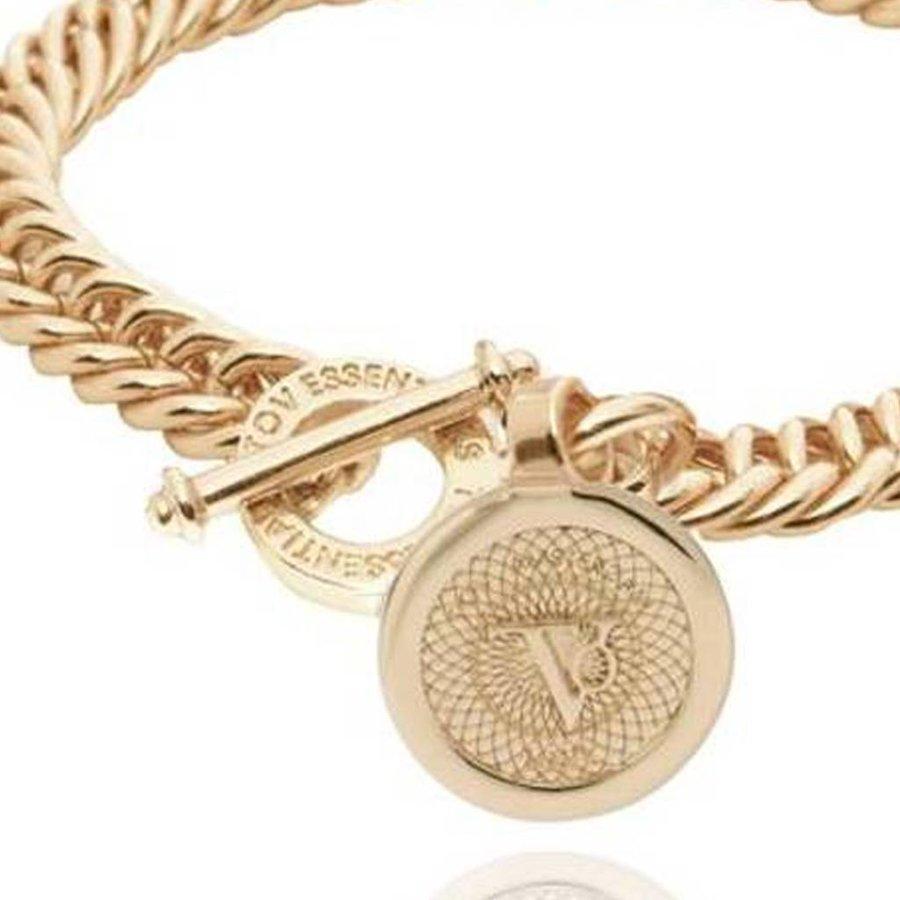 Ini mini mermaid armband - Champagne Goud