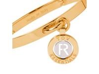 Iniziali bangle 2.0 - Gold/White Gold - Letter R