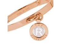 Iniziali bangle  (Armband) 2.0 - Rose/Wit Goud - Letter R