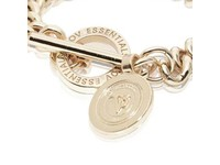 Mini medaillon solochain bracelet - Light gold