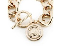 Flat gourmet armband - Champagne Goud