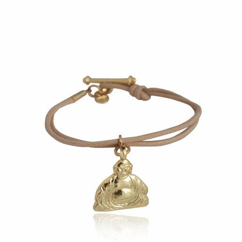 Buddha cord bracelet