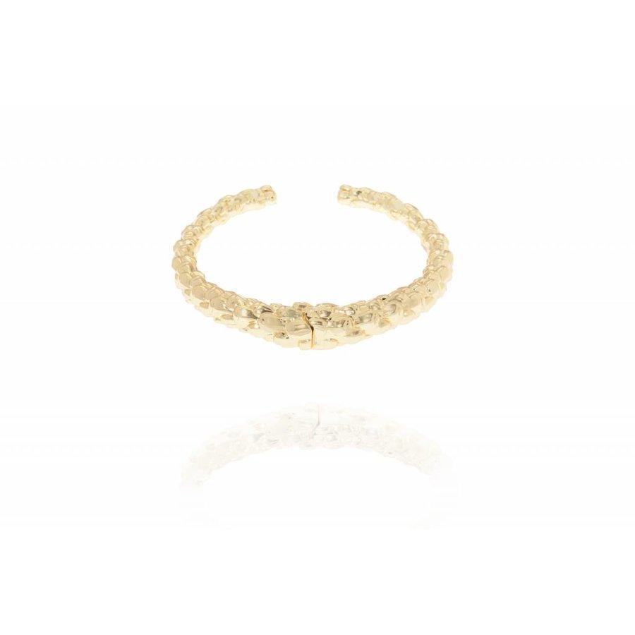 Aspen cuff - Gold - bracelet