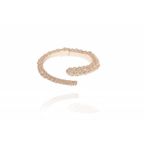 Aspen wrap cuff - Rose - Armband