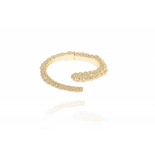 Aspen wrap cuff - Gold