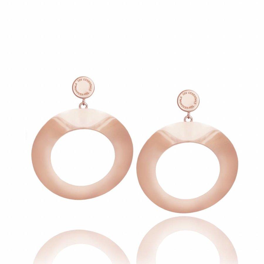 Vintage earrings - Rose
