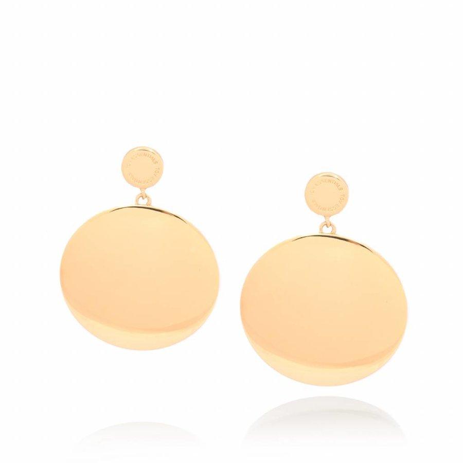 Classic big earrings - Gold