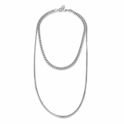 Fun necklace - White gold