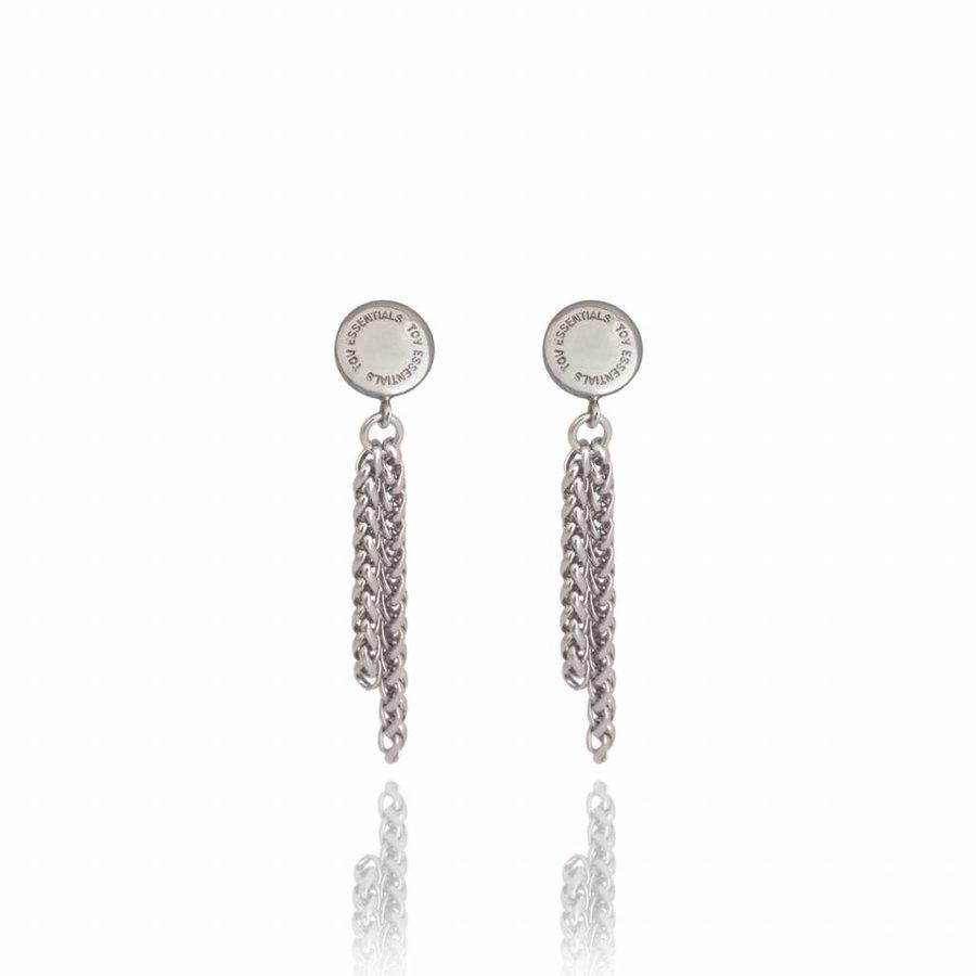 Spiga earring - White gold