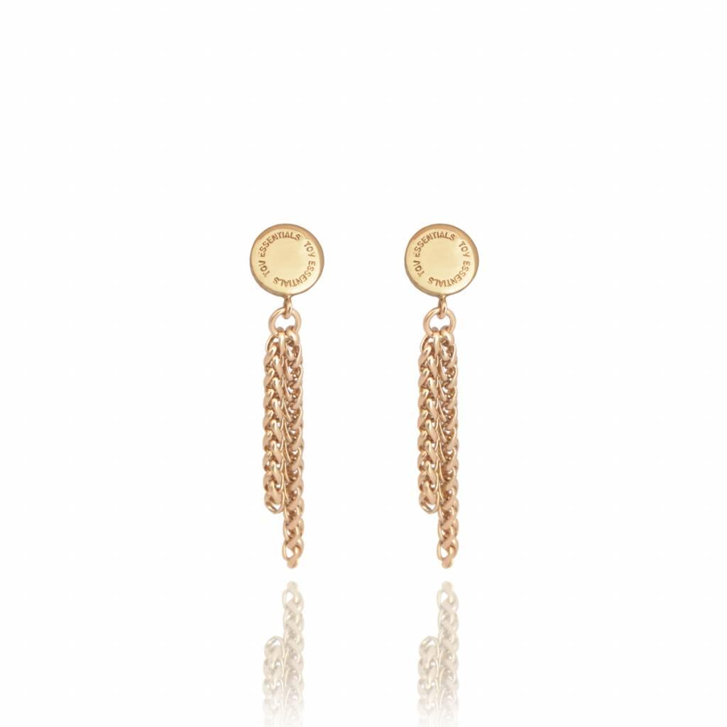 Spiga earring - Gold - TOV Essentials