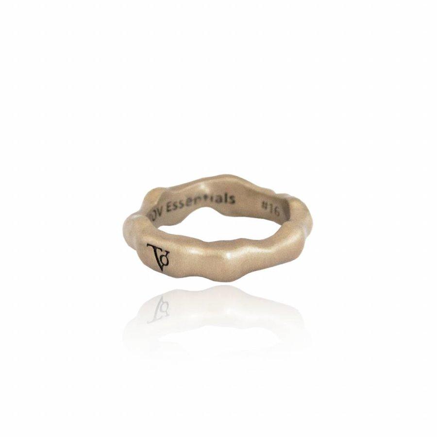 Oak ring - brass