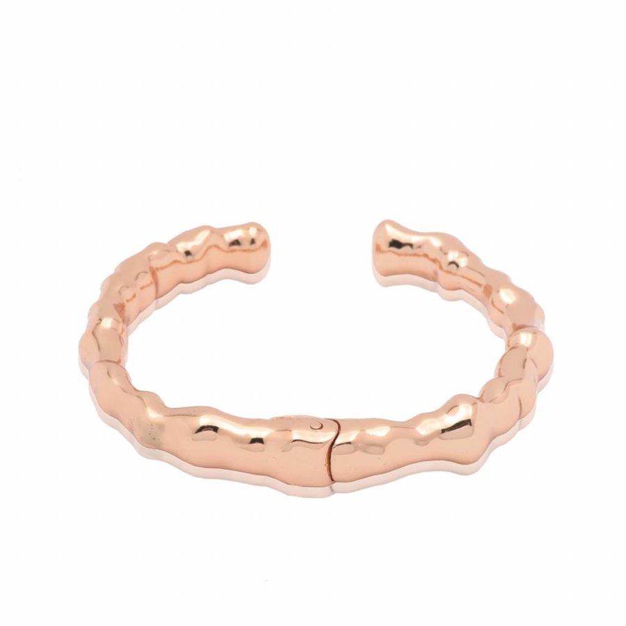 Oak cuff - Rose - large- armband