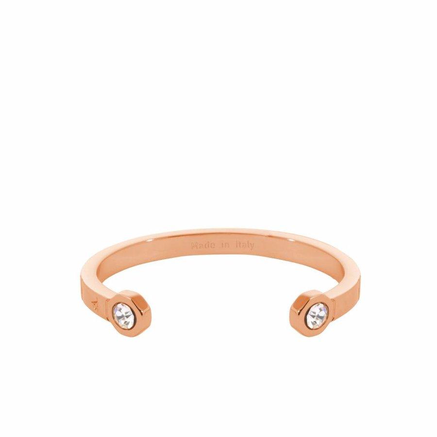 Phoenix cuff (Armband) - Rose Crystal