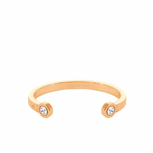 Phoenix cuff - Gold/ Crystal