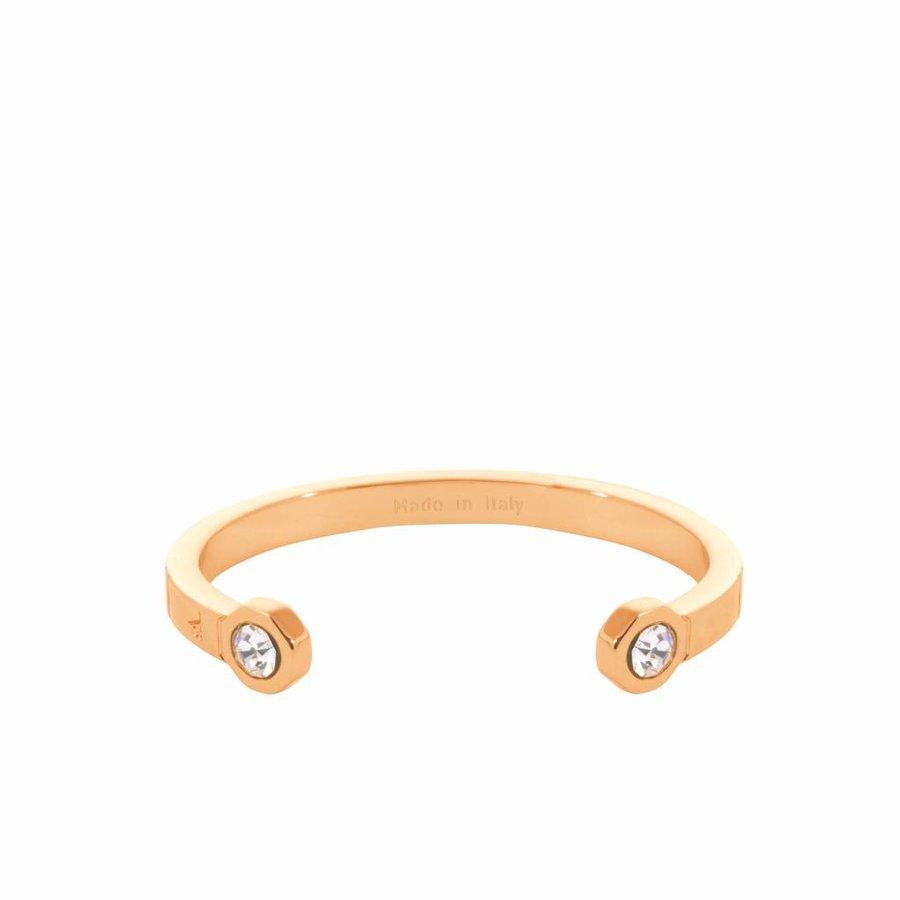 Phoenix cuff (Armband) - Goud/ Crystal