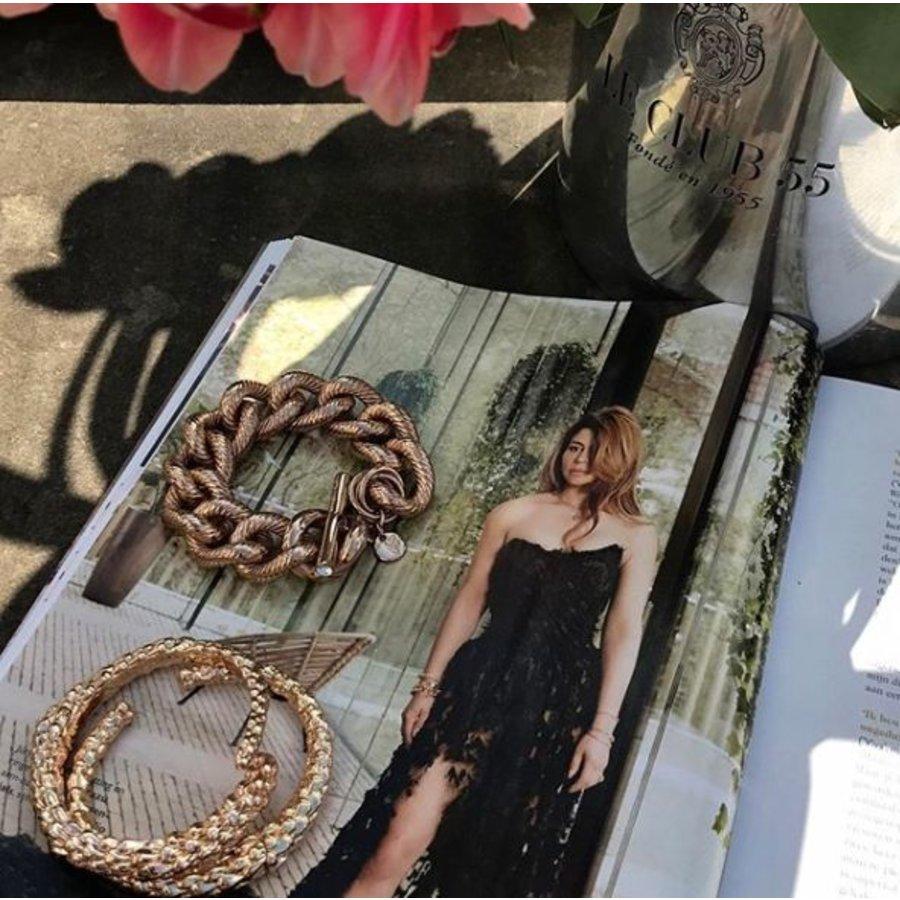 Aspen wrap cuff - Goud - Armband