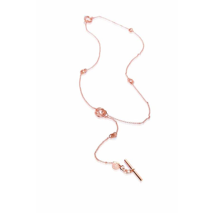 Multi necklace - Rose