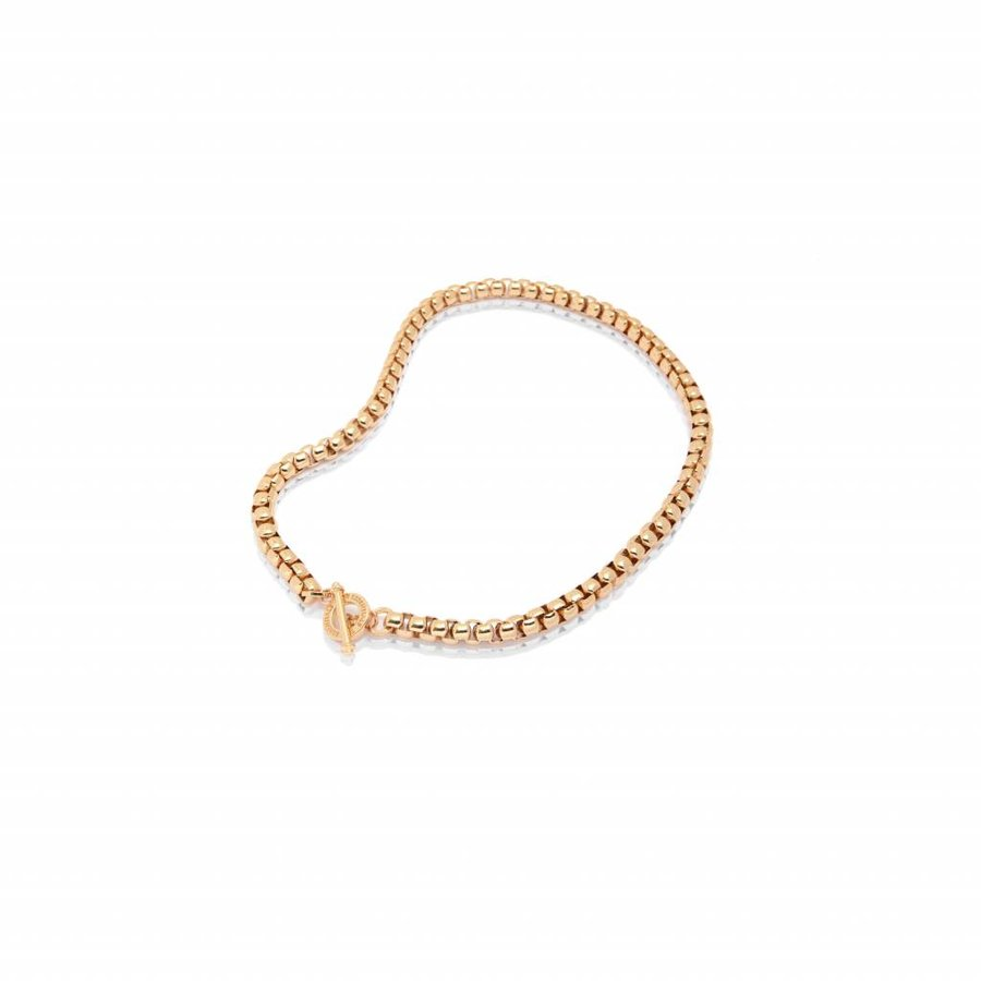 Round venice chain necklace - Rose