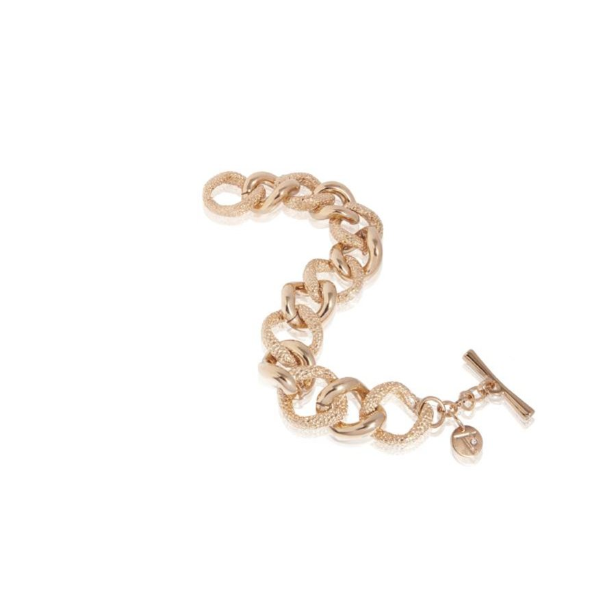 Stingray flat gourmet bracelet - Rose