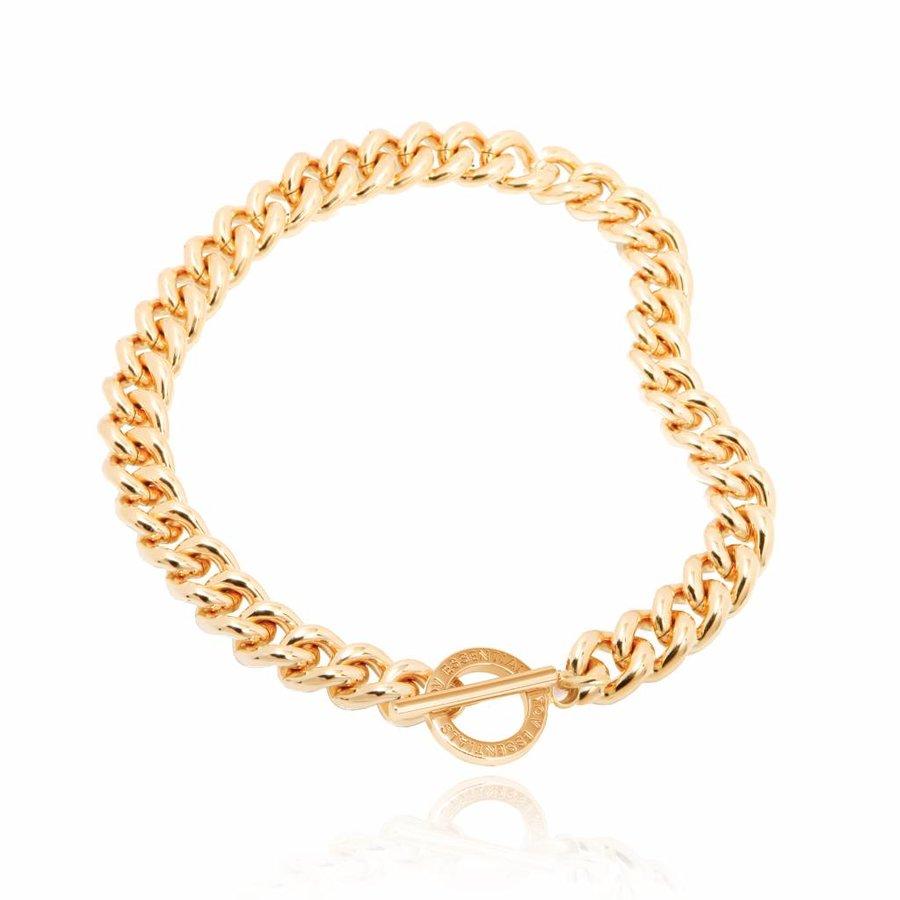 Small solochain collier- Gold