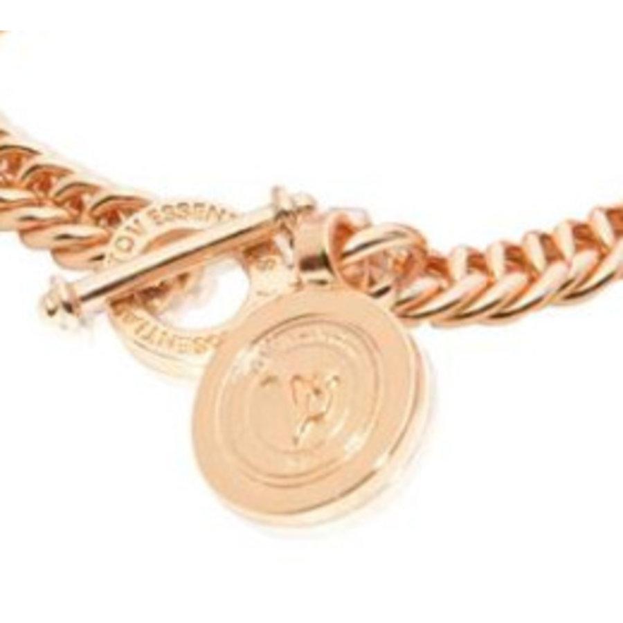 Mini mermaid bracelet - rose gold