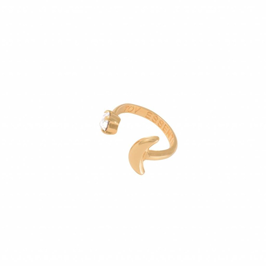 To the moon ring - Gold
