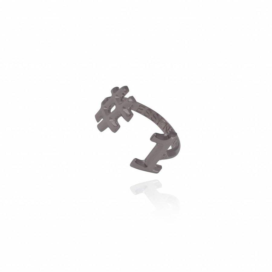 #1 ring - Gun metal