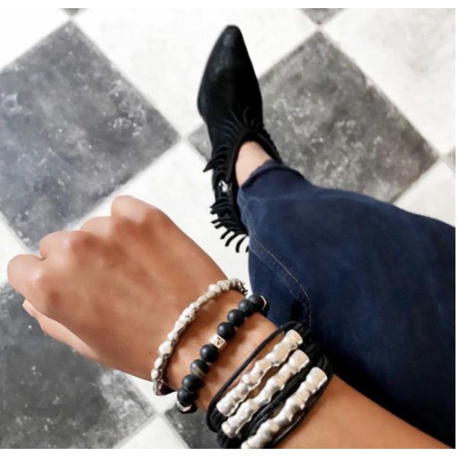 Oak twig bracelet - Rose Black