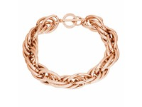 Twisted chain ketting - Rose