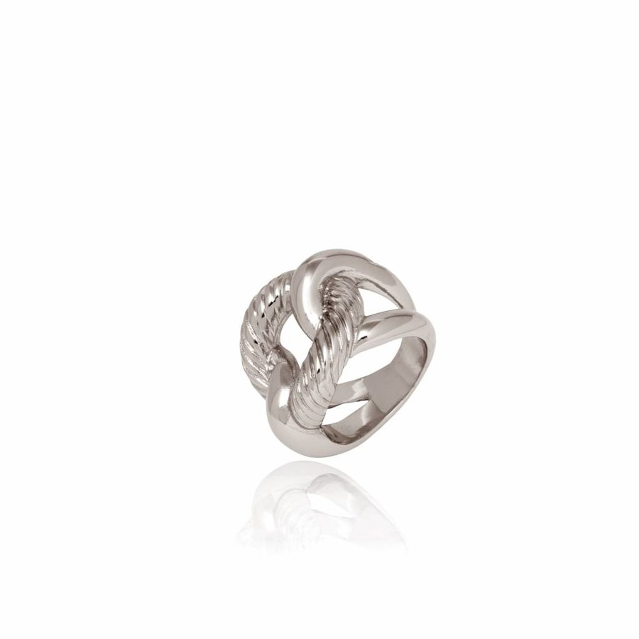Profile gourmet ring - Silver