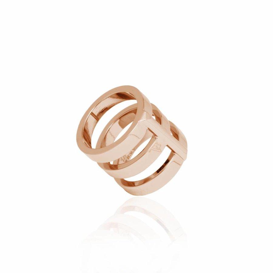 Future multi ring - Rose
