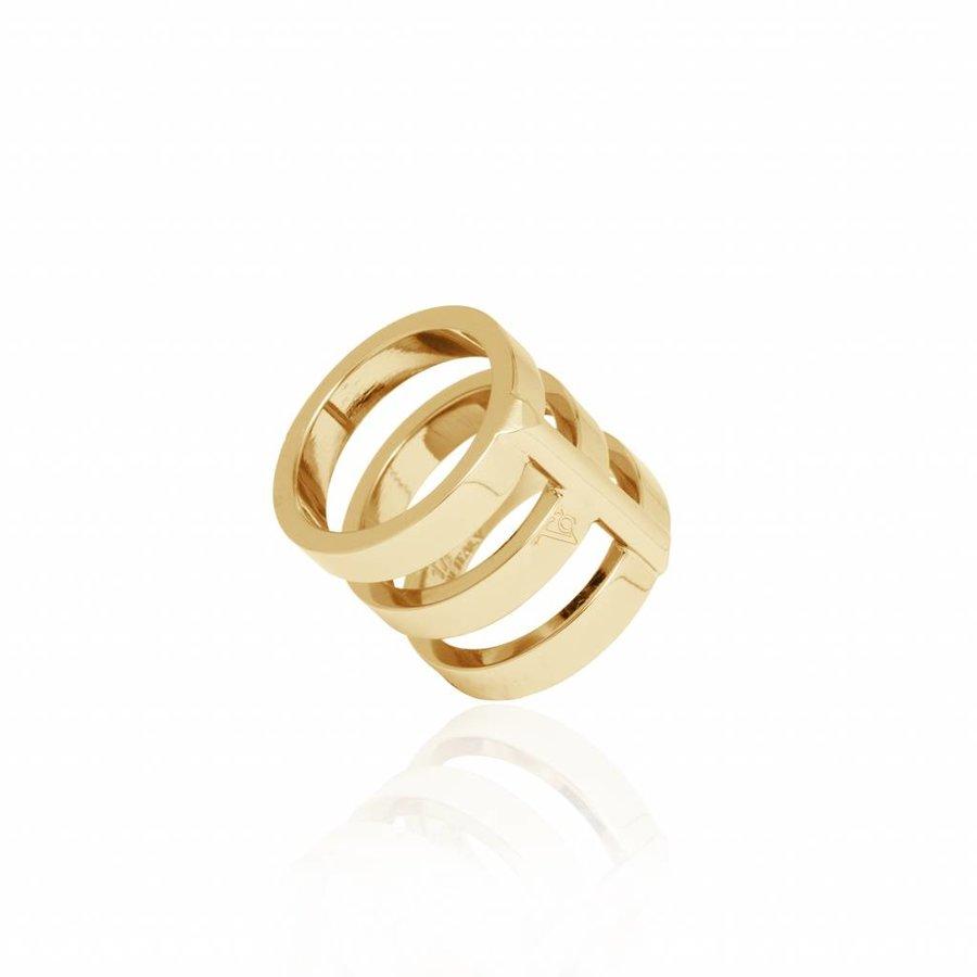 Future multi ring - Gold