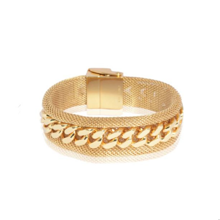 Malien single chain armband - Goud