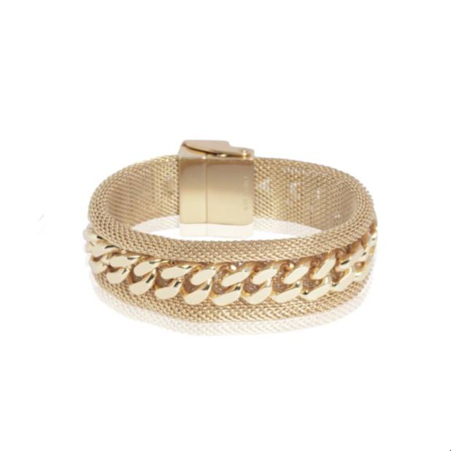 Malien single chain bracelt - Light gold