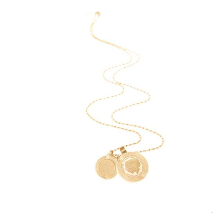 Trix en Juul necklace - Gold