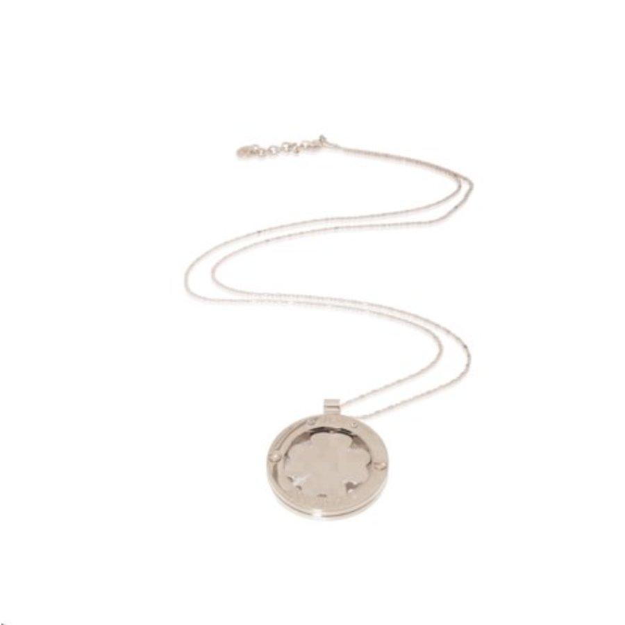 Medaillon 85cm necklace - Gold/ 4leaf