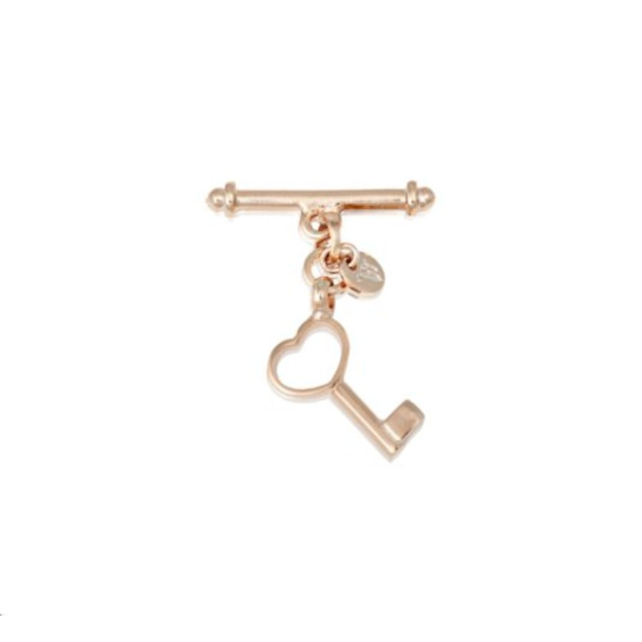 Key pendant - Rose