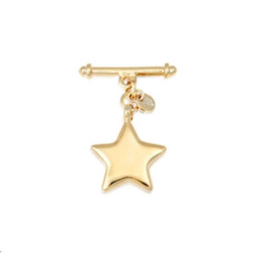 Star pendant - bracelet - gold