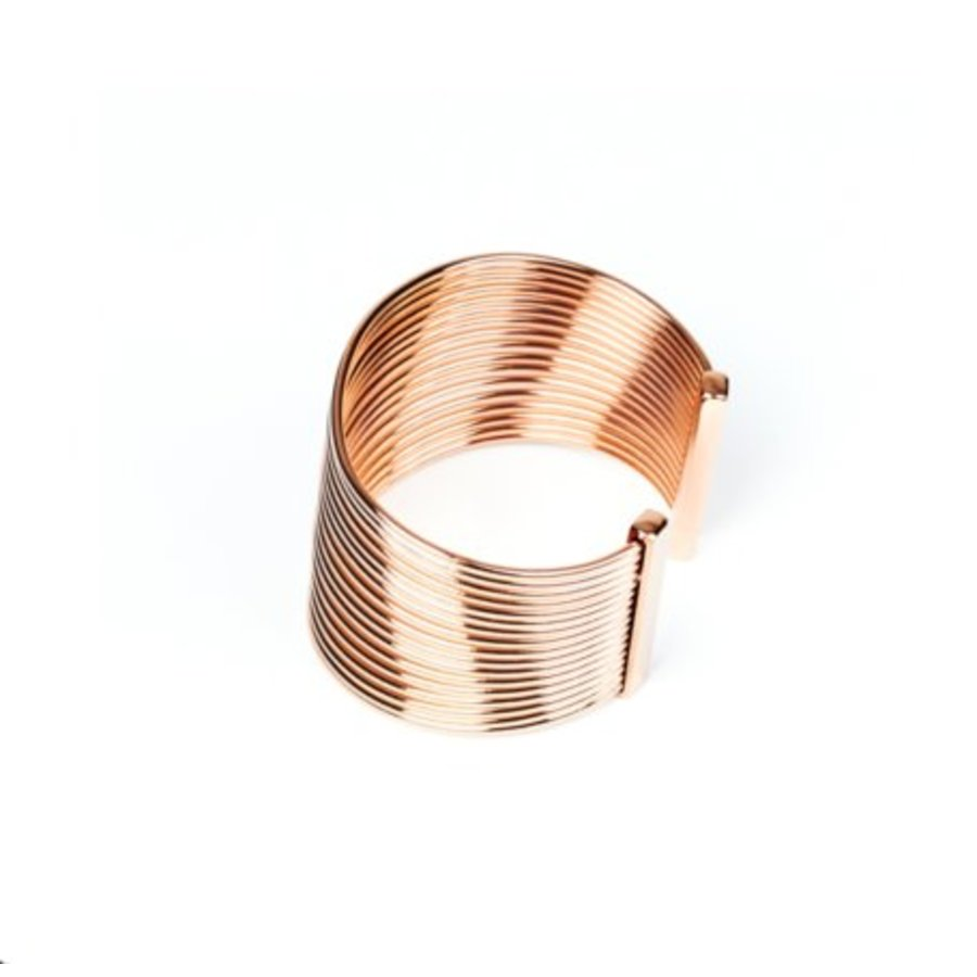 New spiral armband - Rosé
