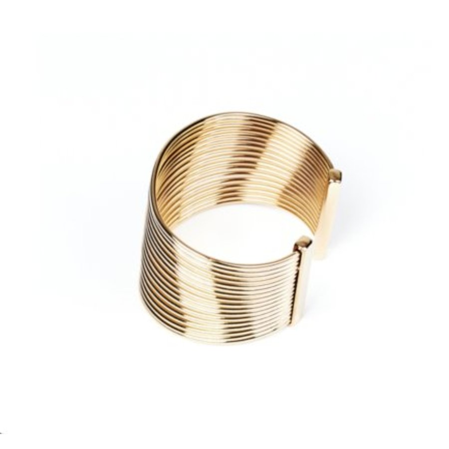 New spiral bracelet - Light gold