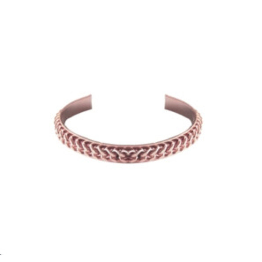 Love flat chain cuff - Rose