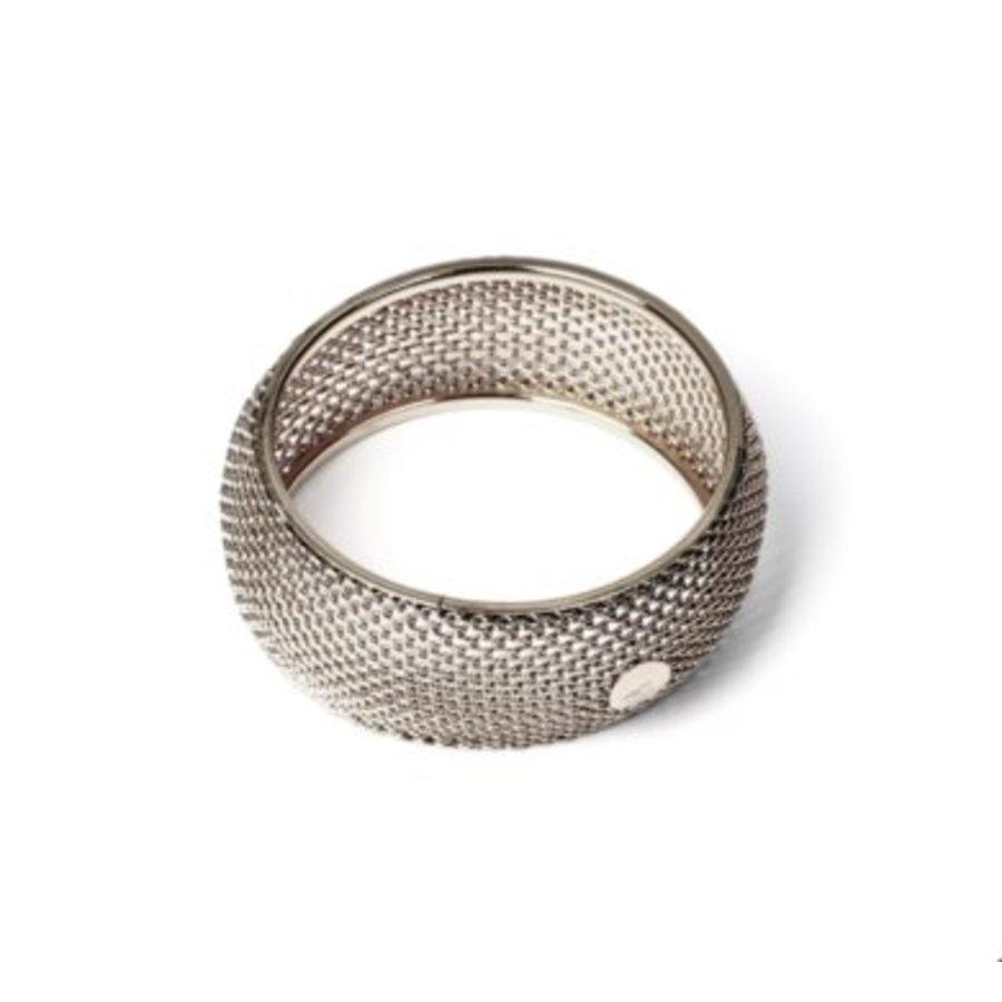 Big malien armband - Zilver