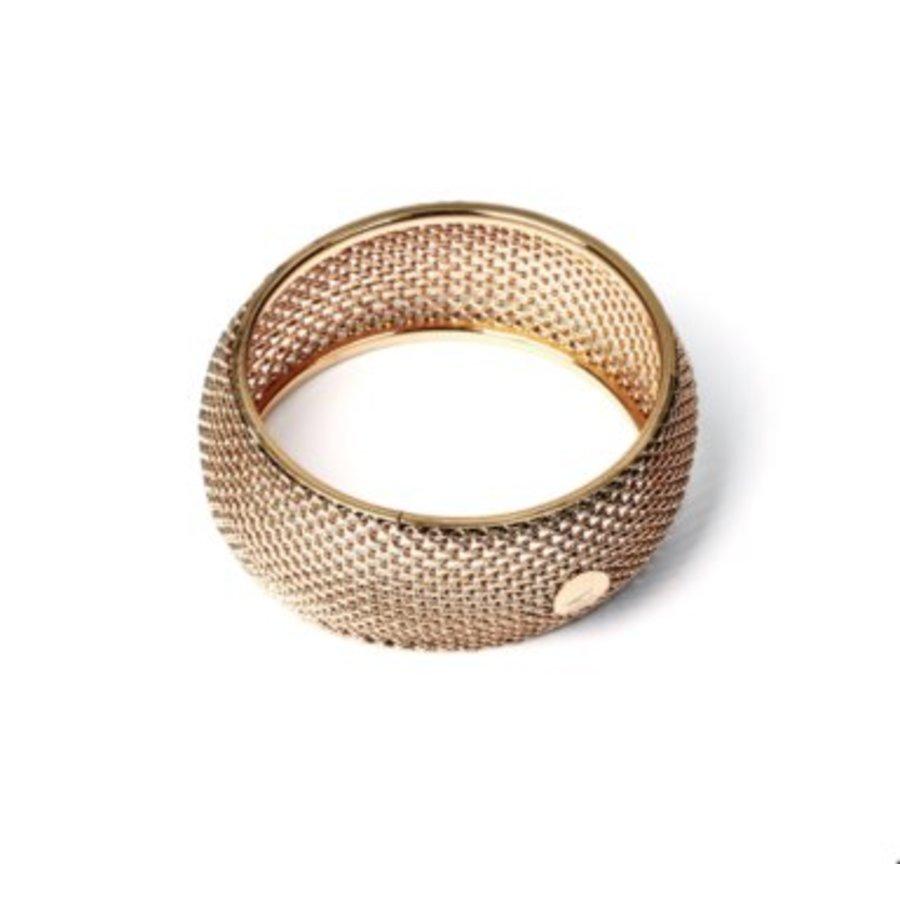Big malien armband - Champagne goud